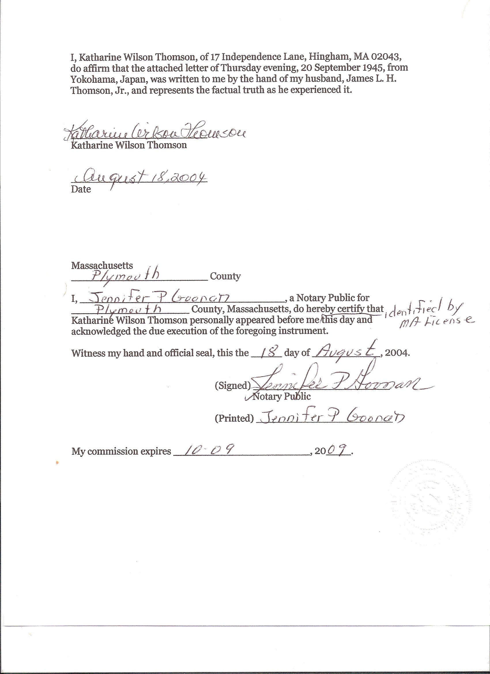 Proof Of Residency Letter Notarized Template - Unique How to Get A Letter Notarized Your Template Collection