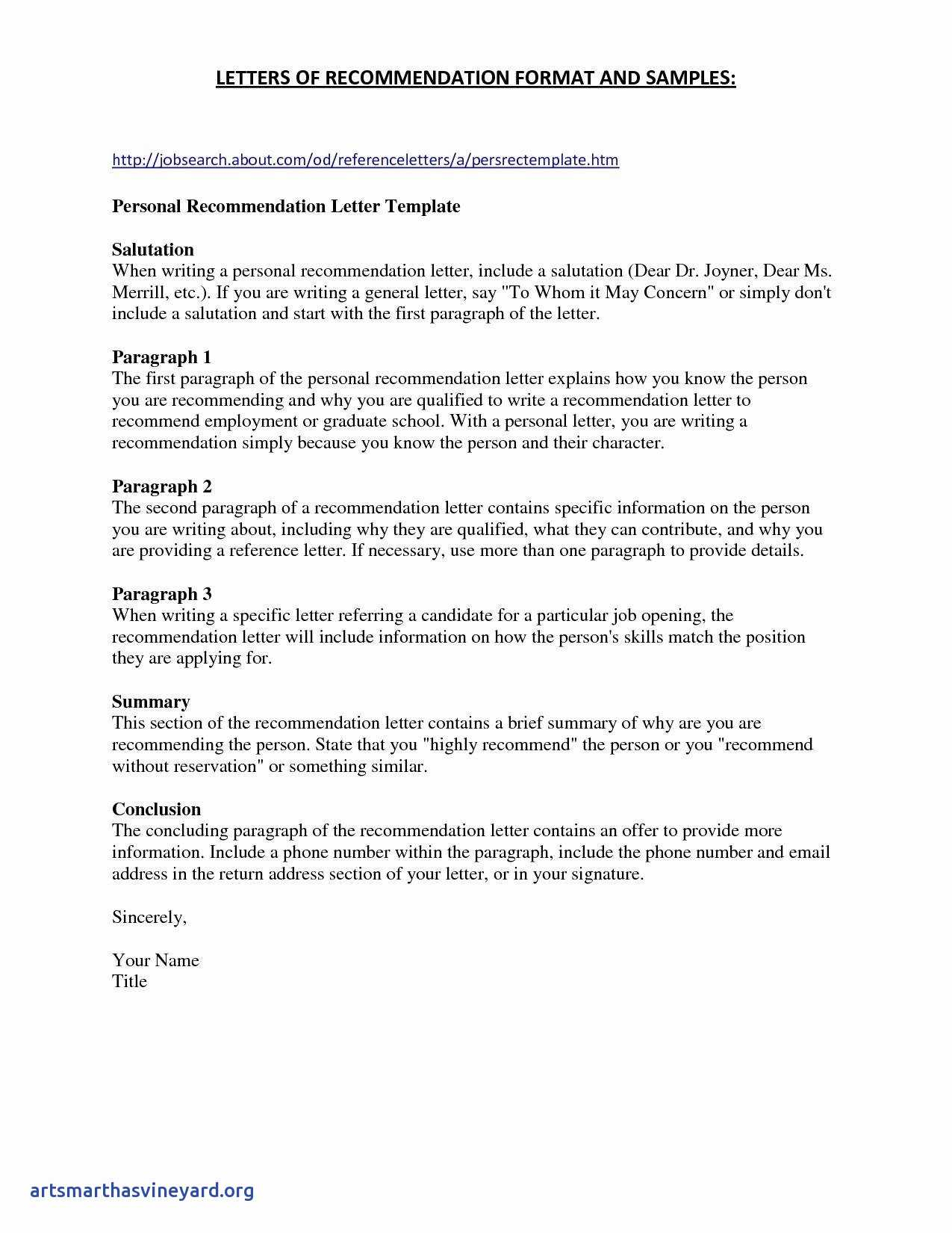 School Reference Letter Template - Unique Personal Reference Letter Sample Design Free Web Templates