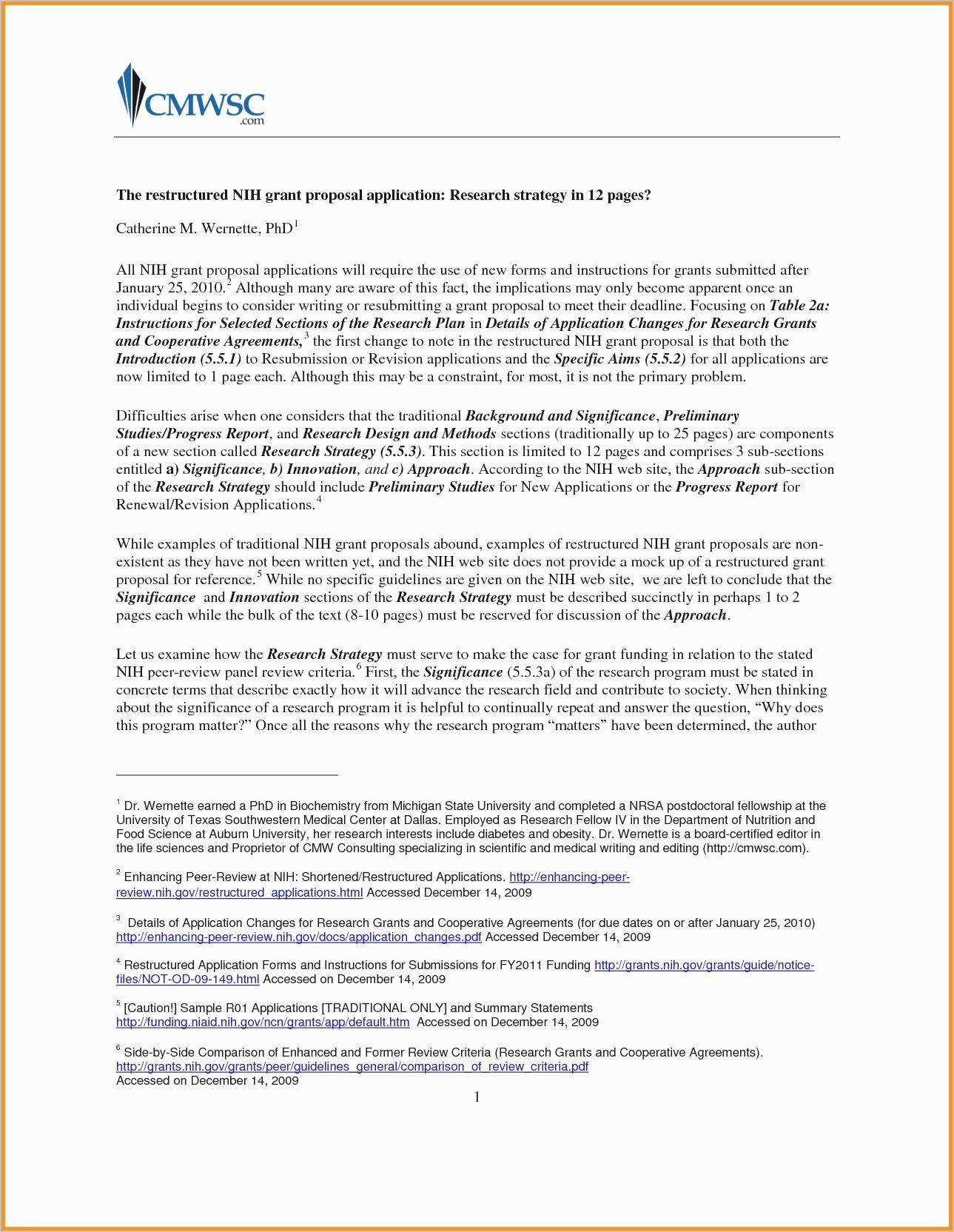 Grant Cover Letter Template - Unsolicited Cover Letter Template Inspirational Best Job Application