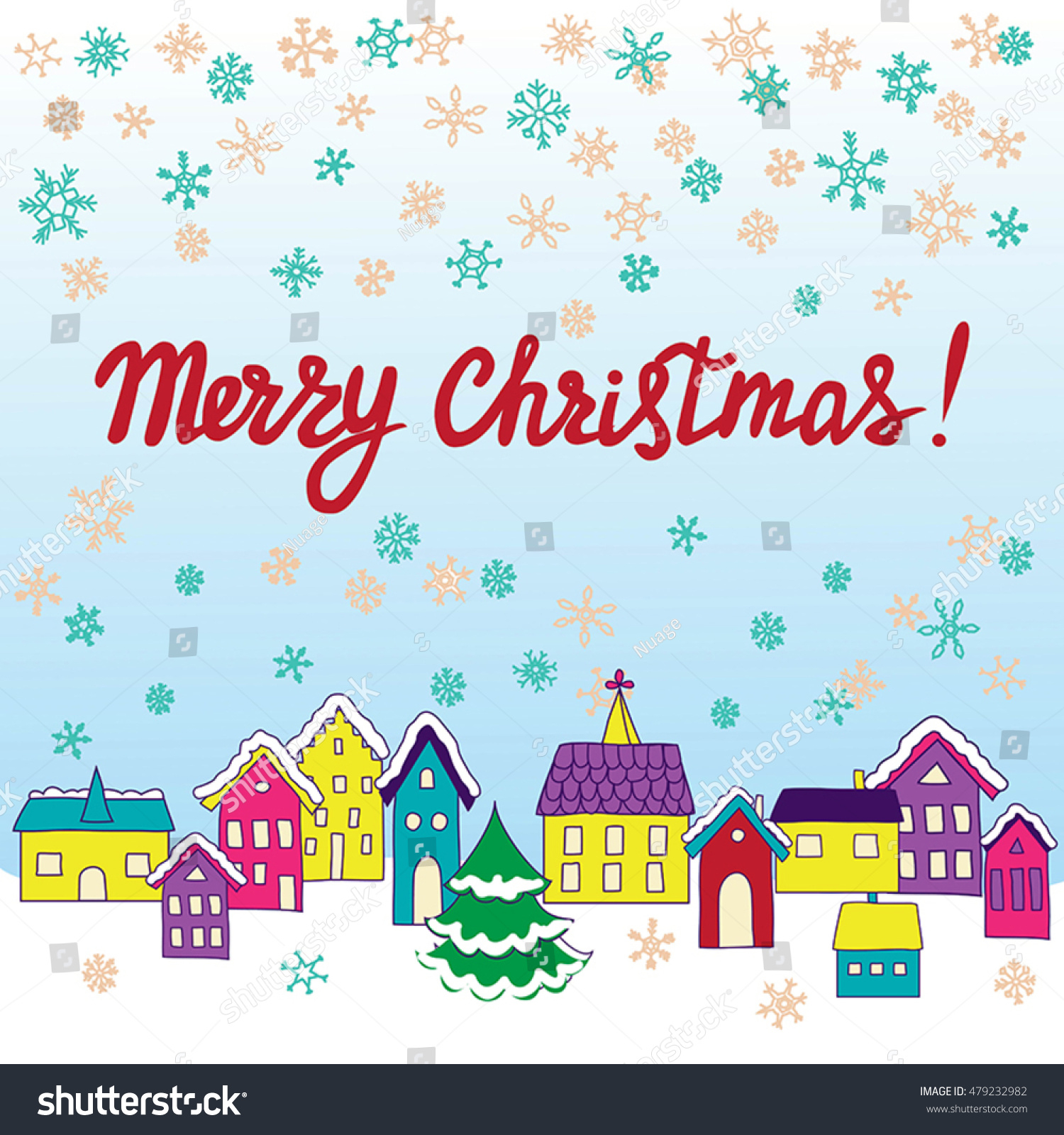 Christmas Letter Background Template - Vector Template Christmas Cards Invitations Backgrounds Stock Vector