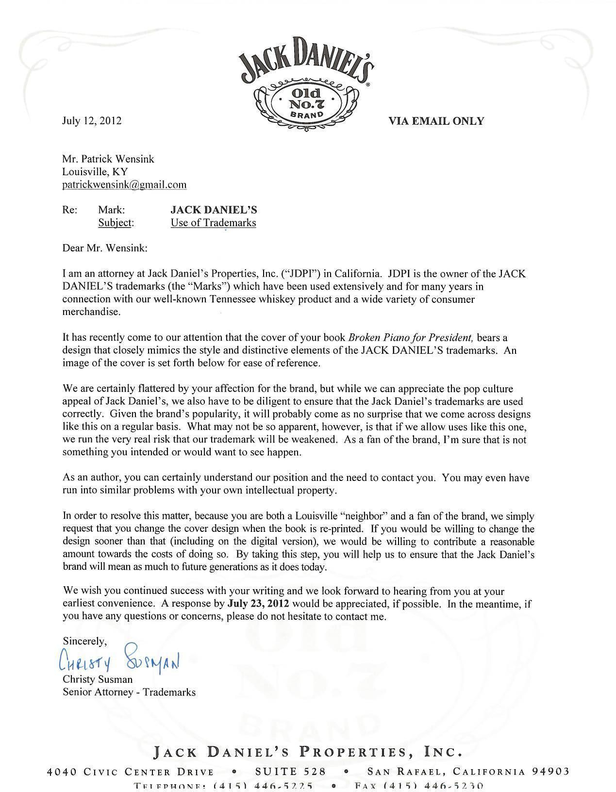 Free Cease and Desist Letter Template for Slander - What is A Cease and Desist Letter Inspirational Case Jacka Danielsa
