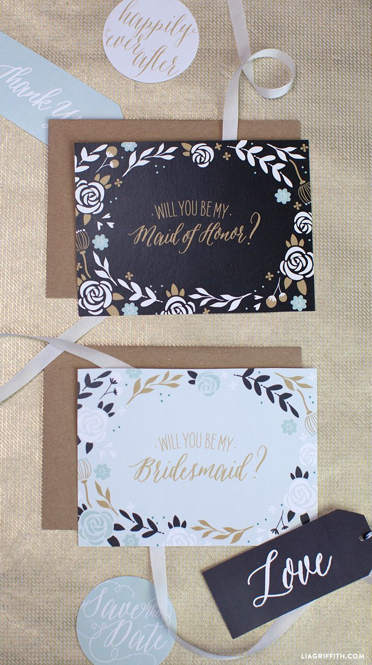 Will You Be My Bridesmaid Letter Template - Will You Be My Bridesmaid Cards