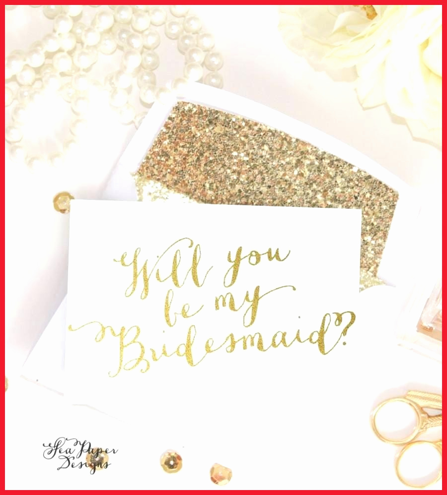 Will You Be My Bridesmaid Letter Template Collection Letter Cover