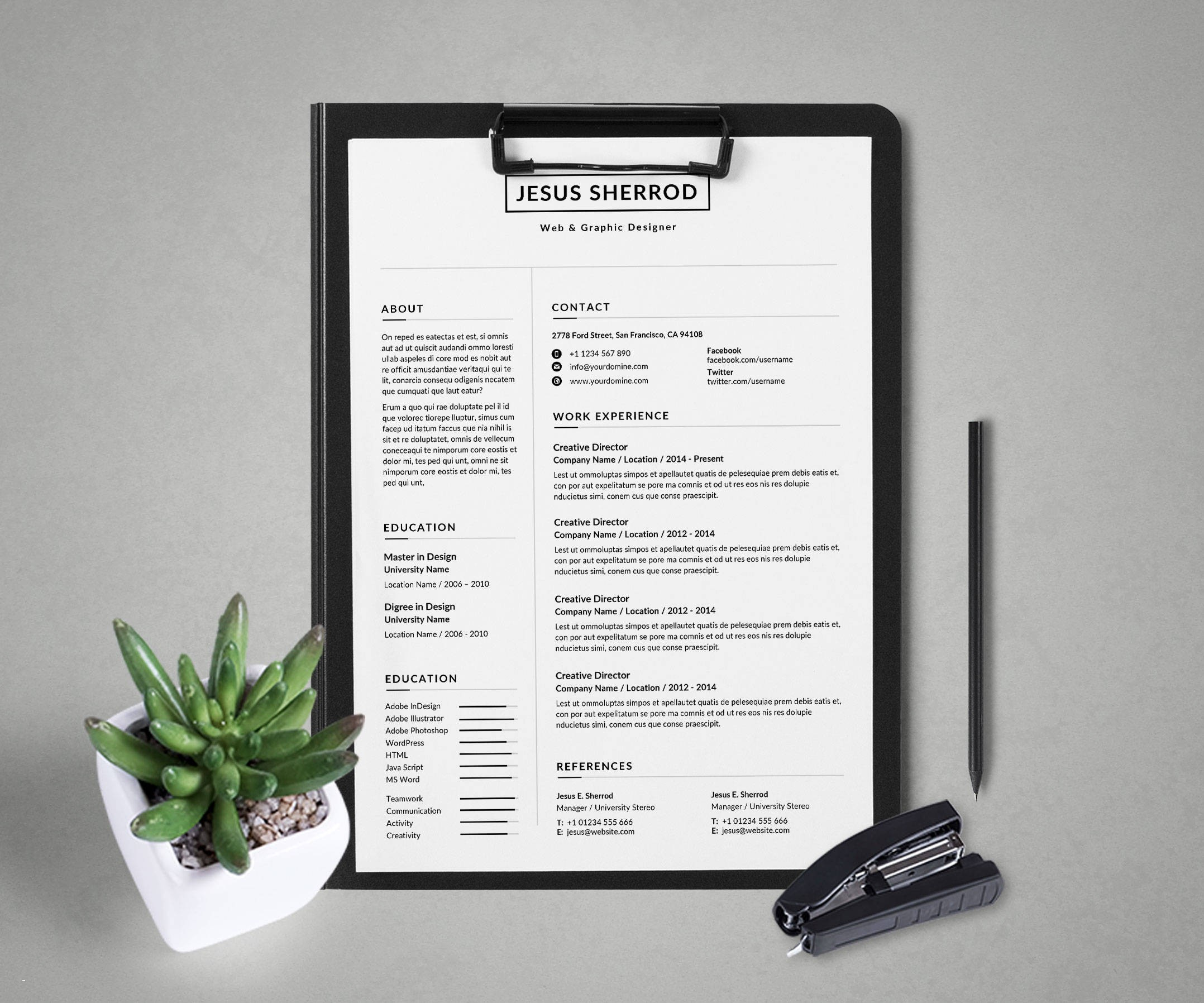Creative Cover Letter Template Word Free - Wordpress Resume theme Free Awesome Creative Cover Letter Template