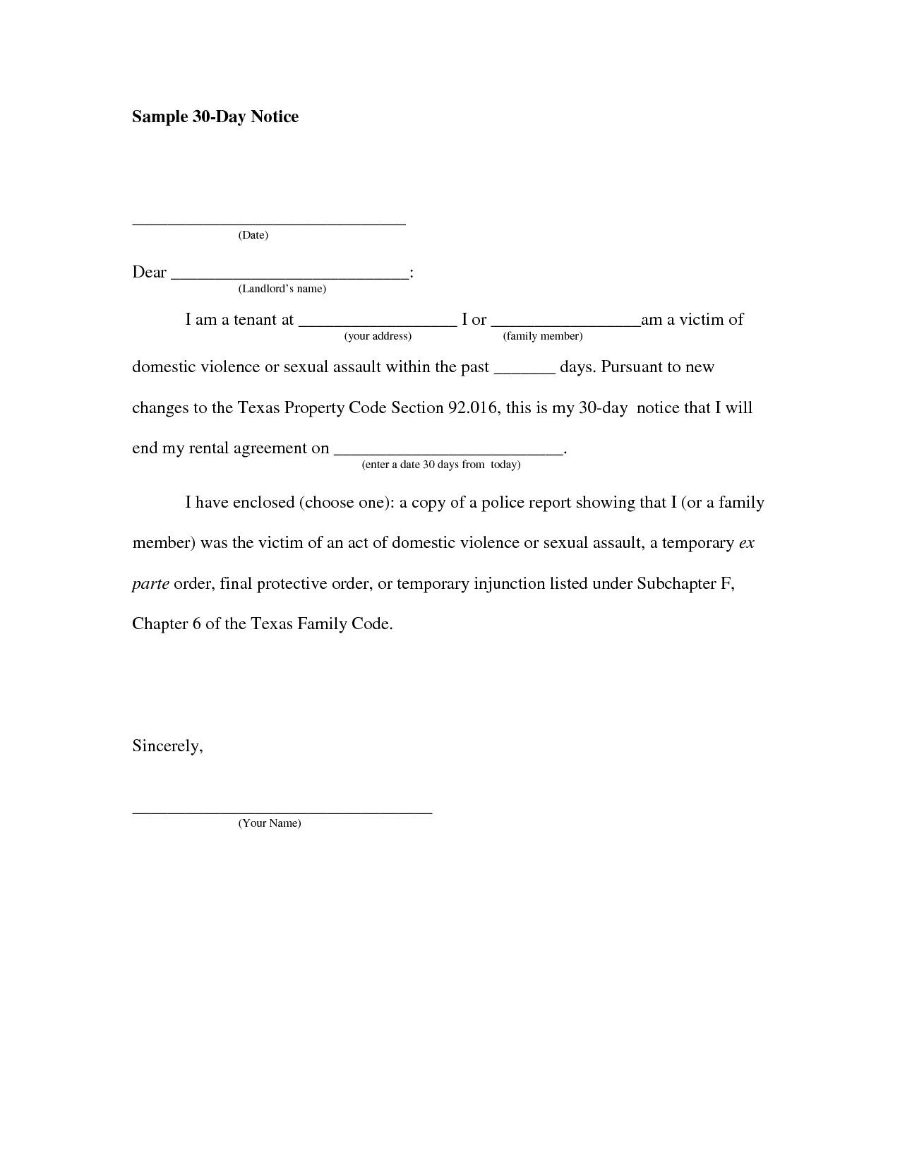 60 day notice apartment template.html